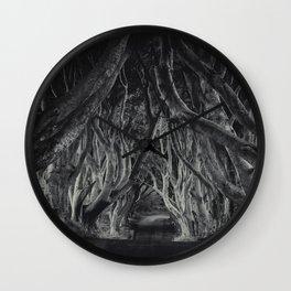 The Dark Hedges Wall Clock