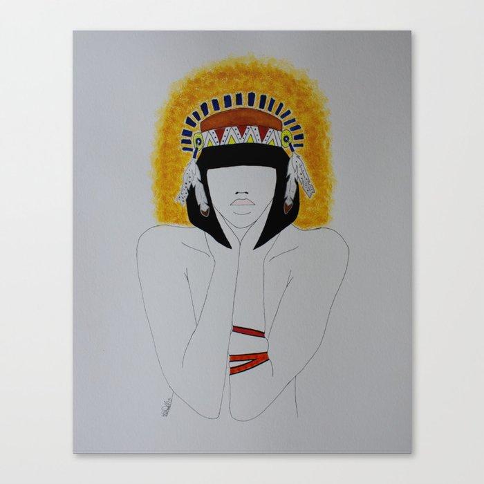 Timid Brave Canvas Print