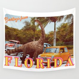 greetings from florida Wall Tapestry