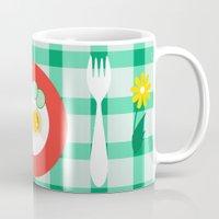 breakfast Mugs featuring breakfast by vitamin