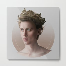 KING OF MY HEART Metal Print