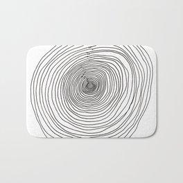 Concentric Circles Bath Mat