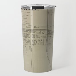 Vintage Map of Newark NY (1874) Travel Mug