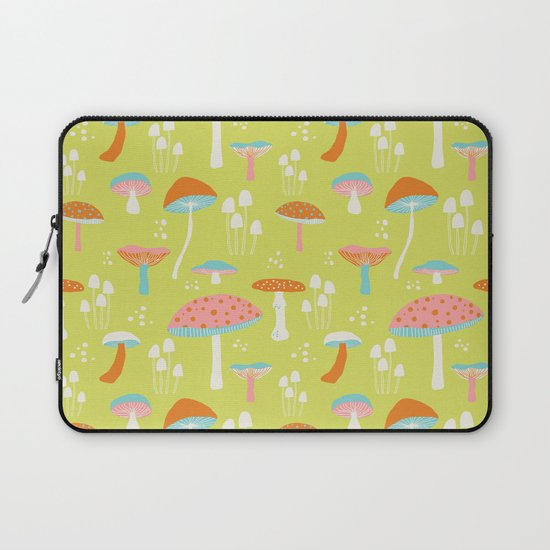 Flora- mushrooms Laptop Sleeve
