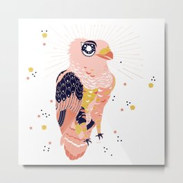Eager Eagle Metal Print