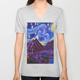 Maui Starry Night Unisex V-Neck