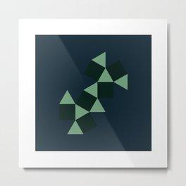 #124 Cuboctahedron – Geometry Daily Metal Print