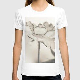 Monochromatic rose T-shirt