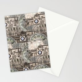 Steampunk Industry Stationery Cards