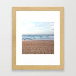 Pale Beach Framed Art Print