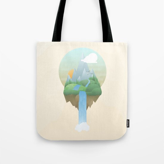 Our Island in the Sky Tote Bag