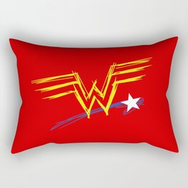 Diana Prince: Raw Rectangular Pillow