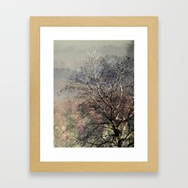 Moody Tree Framed Art Print