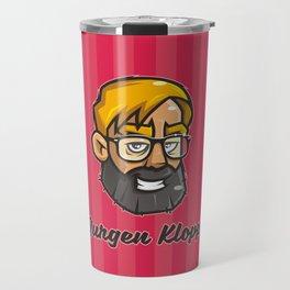 Jurgen Klopp Travel Mug