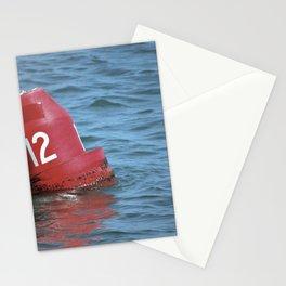 Buoy 12 south Stationery Cards