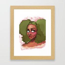 Pom Pom Framed Art Print