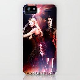 SwanQueen Sword iPhone Case