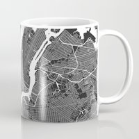 tokyo ghoul Mugs featuring TOKYO by Maps Factory