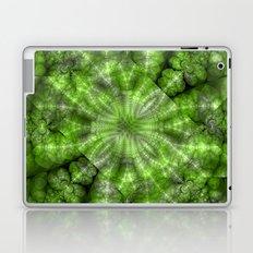 Fractal Imagination I - Emerald Laptop & iPad Skin