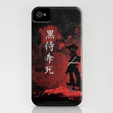 Black Samurai Red Death Slim Case iPhone (4, 4s)