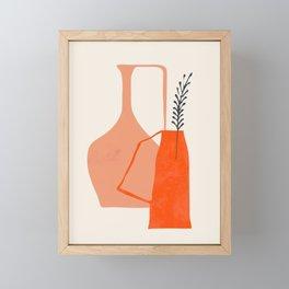 Vases3 Framed Mini Art Print