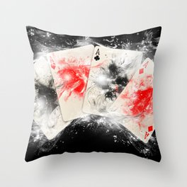 Play Your ACE Throw Pillow