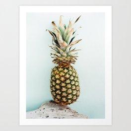 Tropical Pineapple - Bahamas - Travel Photography Art Print