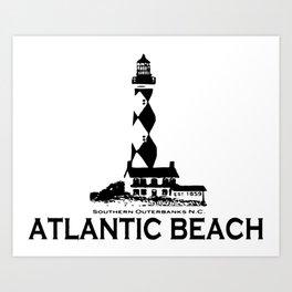 Atlantic Beach - North Carolina. Art Print