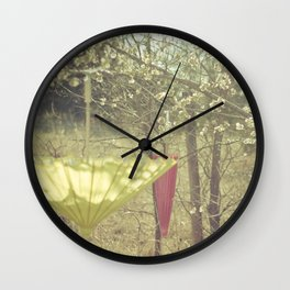 Pink Lemonade II Wall Clock