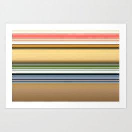 stripes 82 Art Print
