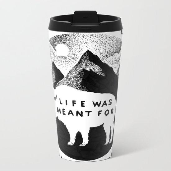 OUTDOORS Metal Travel Mug
