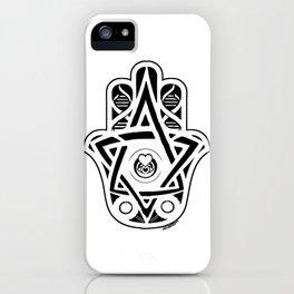 Colleen's Hamsa iPhone Case