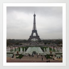 Eiffel Tower, Paris France Photography Art Print