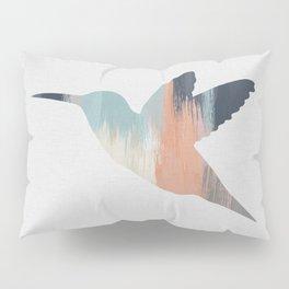Pastel Hummingbird Pillow Sham