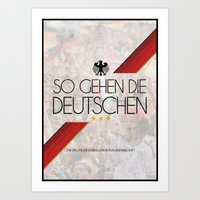 germany Art Prints featuring Germany by liamhohoho