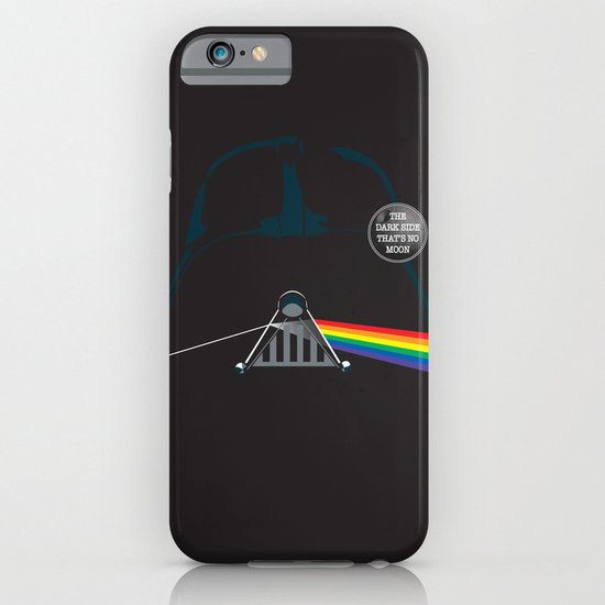The Dark Side... That's No Moon! iPhone & iPod Case