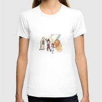 oz T-shirts featuring OZ by Little Moon Dance