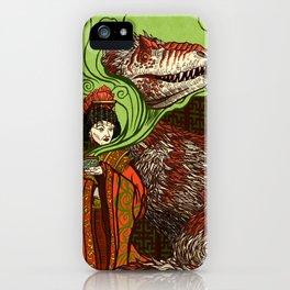 Ancient Empress iPhone Case