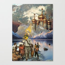 Escape from the Onion Domes Canvas Print