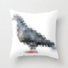 triangular pigeon. Throw Pillow