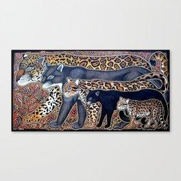 Big cats of Costa Rica Canvas Print