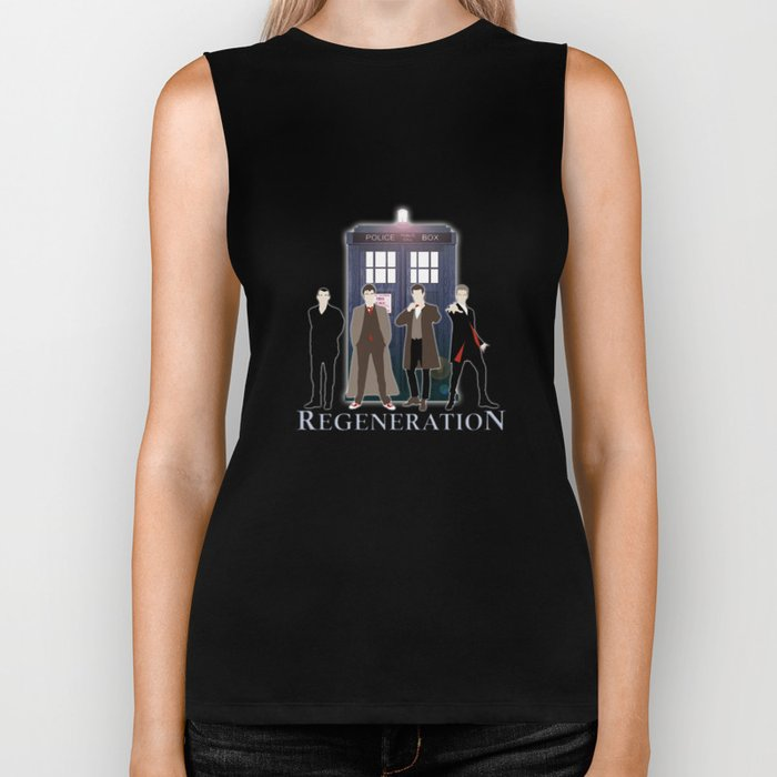 The Doctor Of Regeneration Biker Tank