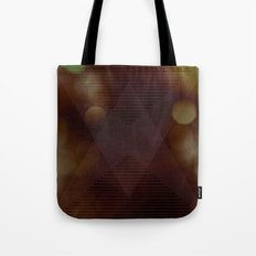 Bokeh Triangle Tote Bag