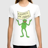 muppets T-shirts featuring Muppets for Obama by Illustrated by Jenny