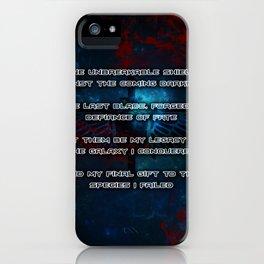 Space Marines iPhone Case
