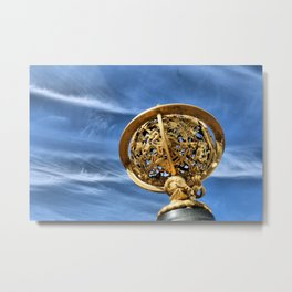Star Mapping Metal Print