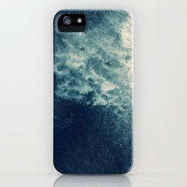 Ice Blue Surf iPhone Case