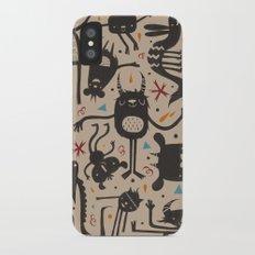 Topsy Turvy - Light iPhone X Slim Case