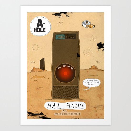 HAL 9000 Art Print