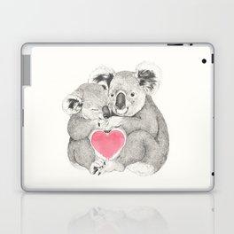 Koalas love hugs Laptop & iPad Skin